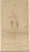 Card 30, from the Girl Cyclists series (N49) for Virginia Brights Cigarettes