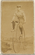 Card 37, from the Girl Cyclists series (N49) for Virginia Brights Cigarettes