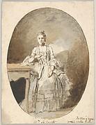 Portrait of Marguerite Le Comte