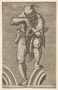 A Man Shooting a Crossbow