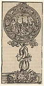 A Silver-Gilt Pacifical with a Crucifixion, from the Large Series of Wittenberg Reliquaries