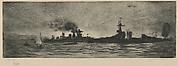 Warships at Scapa