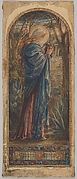 Mary Magdalen at the Sepulcher: Design for a Stained Glass Window