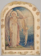 Angel Revealing a Vision of The New Jerusalem: Design for a Stained Glass Window, St. Michael's Church, New York City