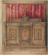 Design for the Side Altar, Church of the Ascension, New York
