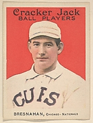 Bresnahan, Chicago, National League, from the Ball Players series (E145) for Cracker Jack