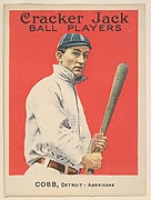 Cobb, Detroit, American League, from the Ball Players series (E145) for Cracker Jack