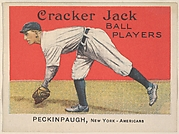 Peckinpaugh, New York, American League, from the Ball Players series (E145) for Cracker Jack