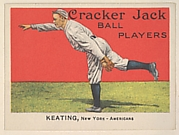Keating, New York, American League, from the Ball Players series (E145) for Cracker Jack