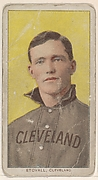 Stovall, Cleveland, from the White Border series (T206) for the American Tobacco Company