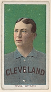 Young, Cleveland, from the White Border series (T206) for the American Tobacco Company