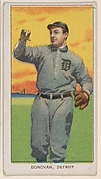 Donovan, Detroit, American League, from the White Border series (T206) for the American Tobacco Company