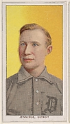 Jennings, Detroit, American League, from the White Border series (T206) for the American Tobacco Company