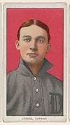 Jones, Detroit, American League, from the White Border series (T206) for the American Tobacco Company