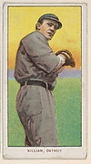 Killian, Detroit, American League, from the White Border series (T206) for the American Tobacco Company