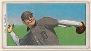 Mullin, Detroit, American League, from the White Border series (T206) for the American Tobacco Company