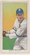 Burch, Brooklyn, National League, from the White Border series (T206) for the American Tobacco Company