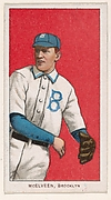 McElveen, Brooklyn, National League, from the White Border series (T206) for the American Tobacco Company
