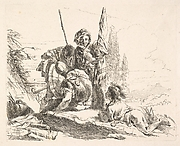 Three Soldiers and a Boy, from the Capricci