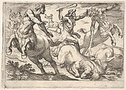 Hercules and the Centaurs, from the Labors of Hercules
