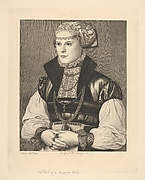 Portrait of a German Lady