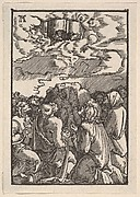 The Ascension of Christ, from The Fall and Salvation of Mankind Through the Life and Passion of Christ
