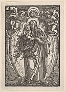 Virgin and Child on a Crescent, from The Fall and Salvation of Mankind Through the Life and Passion of Christ
