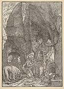 Saint Jerome in Penitence, in a Cave