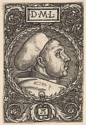 Martin Luther with Doctoral Cap