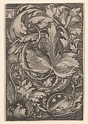 Copy of Leaf Ornament with Lilies of the Valley