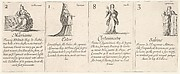 Mariame, Ester, Clytemnestre, and Sabine, from 'The game of queens' (Le jeu des Reines renommées)