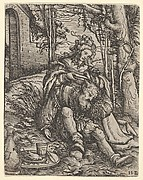 Samson and Delilah, from Women's Wile (Weiberlisten)