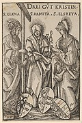 The Three Christian Heroines (Drei Gut Kristin), from Heroes and Heroines
