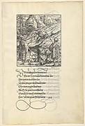Theuerdarnk's Horse Falls Under Him, from [Theuerdank] Die geuerlicheiten vnd einsteils der geschichten des loblichen streytparen vnd hochberümbten helds vnd Ritters herr Tewrdannckhs