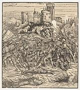 The Battle Near Naples, from Der Weisskunig