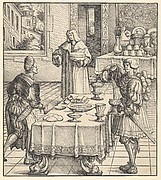 The White King Learning to Conduct a Kitchen, from Der Weisskunig