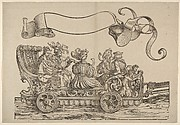 Cart with Horn Musicians, The Triumphal Procession of Emperor Maximilian I