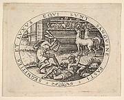 Hercules Killing Diomedes