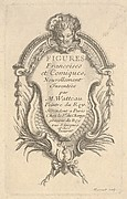 Frontispiece for 'Figures French and comic' (Figures francoises et comiques)