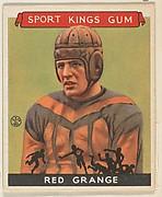 "Harold ""Red"" Grange, Football"