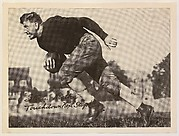 """""""Stan"""" Kostka, Touchdown Next Stop!, from the """"Baseball and Football"""" set (R311), issued by the National Chicle Company to promote Diamond Stars Gum"""