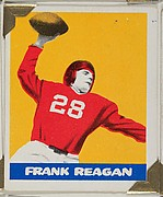 Frank Reagan, from the All-Star Football series (R401-2), issued by Leaf Gum Company