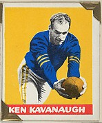Ken Kavanaugh, from the All-Star Football series (R401-2), issued by Leaf Gum Company