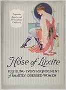 """Hose of Luxite"" Advertisement for Holeproof Hosiery Co."