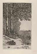 The Firewood Collector (La Ramasseuse de fagots / La Bûcheronne / Grand paysage Brabançon)