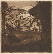 Paysage (Landscape, from L'Estampe originale, Album VII)