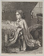 "The Child's Prayer (from ""The Illustrated London News"")"