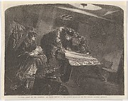 """A Thick Night Off the Goodwins (from """"The Illustrated London News"""")"""