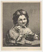 """Deux Bons Amis (from """"The Illustrated London News"""")"""