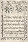 The Capture of Valencia in Italy (La Prise de Valence en Italie)